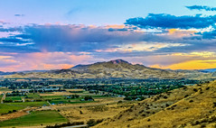 Colorful Valley (http://fineartamerica.com/profiles/robert-bales.ht) Tags: gemcounty idaho mountain emmett sweet sunrise squawbutte farm landscape rollinghills scenic idahophotography treasurevalley clouds spring emmettvalley emmettphotography trees sceniclandscapephotography thebutte haybales canonshooter beautiful sensational awesome magnificent peaceful surreal sublime magical spiritual inspiring inspirational wow stupendous robertbales town butte goldenhour sunset valley