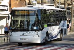 BUS0480 941 8698DDJ Plana Passeig de Jaume l Salou Spain 21.09.2016 (31417) Tags: 941 salou spain plana 8698ddj volvo