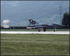"""MIRAGE III"" RS R-2111 Sion juin 1986 (paulschaller67) Tags: mirageiii rs r2111 sion juin 1986"