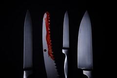 Crime Scene (AlistairBeavis) Tags: alistairbeavis alistairbeaviscom 52weeks knife halloween chilling thriller csi weapon blade scary blood fakeblood sharp