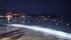 Loy Krathong 2016, Puhket, Thailand (Ld\/) Tags: beach kraton novembre thailand loykrathong2016 puhket krathong loy thailande festival sea patong lights night november