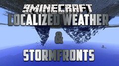 Localized Weather & Stormfronts Mod 1.10.2 (KimNanNan) Tags: minecraft 3d game online video games
