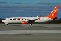 C-FPRP (Sunwing Airlines) (Steelhead 2010) Tags: sunwingairlines boeing b737 b737800 yhm creg cfprp
