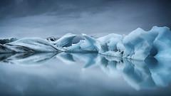 Intimate. (Lindi m) Tags: blueice lagoon reflections icebergs iceland jokulsarlon serene tranquility ice natural nature glacier