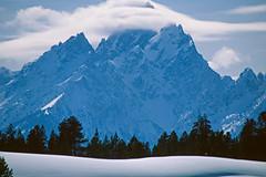 The Grand Teton in the winter (spotwolf5) Tags: tetonrange grandtetonnationalpark greateryellowstoneecosystem