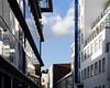 crisp (Cosimo Matteini) Tags: cosimomatteini ep5 olympus pen m43 mft mzuiko45mmf18 london farringdon clerkenwell architecture urban fragmented reflection sky clouds white crisp