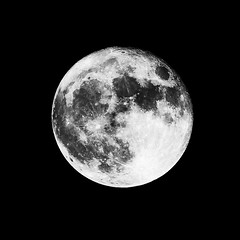 High Contrast Supermoon Nov. 14, 2016 (OldChE) Tags: silverefex sony55210f4563emount sonya6000 subject moon