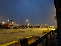 White coating (stevenbrandist) Tags: liverpool portofliverpool merseyside winter hail
