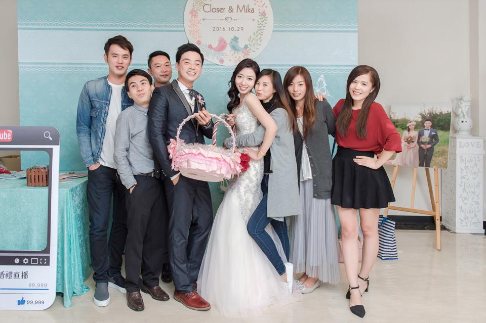 台南婚攝 婚禮紀錄 情定婚宴城堡 C & M 180
