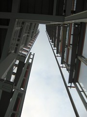 Open deck details of Shard #7 (streetr's_flickr) Tags: theshardoflondon highrise panorama tallbuildings structures architecture london city