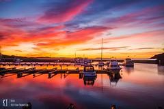 Sunrise in Kristiansand (KrishTh) Tags: ifttt 500px kristiansand christiansholm sunrise soloppgang nature festning ocean sea water sky skies norway beautiful colours skuporn