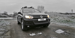 Cold (norm.edwards) Tags: car vw touareg cold 4x4 brrr wow cool nice vehicle ice slippery