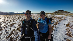 Looking happy before the going got tough (milo42) Tags: wales gopro hiking httpwwwchrisnewhamphotographycouk gw183 2016 snow ice cold bethesda