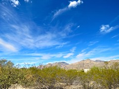 Cloud Structure In Turbulent Layered Winds (Chic Bee) Tags: naturewalk sabinocanyon tucson arizona southwesternusa americansouthwest