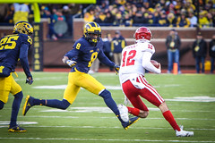 IMG_8320 (samiistoloff) Tags: football michigan michiganfootball maize umich emotion jimharbuagh jumpman uofmich theteam ncaa nike bigten bigtennetwork btn btnxtakeover blue harbuagh celebration wolverines class project aptop25 rain jordan photographer si110 sports likes photos white red photo indiana hoosiers jakebutt snow