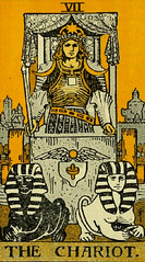 The Chariot (~ Lone Wadi Archives ~) Tags: tarot tarotcard blackmagic occult fortunetelling sorcery retro 1910s