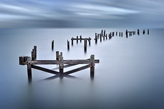 Pierless [Explored] (Langstone Joe) Tags: dorset swanage oldpier longexposure firecrest16stopnd derelict seascape remnants