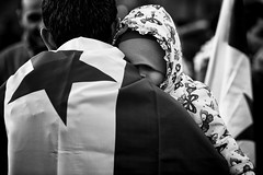 . (Thorsten Strasas) Tags: aleppo bascharalassad basharalassad berlin botschaft brandenburggate brandenburgertor fsa fahne flagge iran kundgebung mh17 mitte russia russland schild schwarzweis syria syrians syrien tiergarten transparent usa activists aleppoisburning banner donotforgetaleppo embassy flag protest rally refugee savealeppo sign germany de