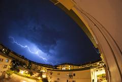 Ekaitza Zarautzen (Mr. Theklan) Tags: storm tormenta lightning zarautz ekaitza