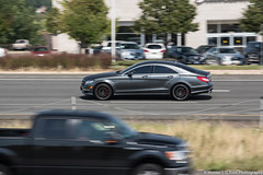 Mercedes-Benz CLS 63 AMG (Hunter J. G. Frim Photography) Tags: highway colorado gray denver 63 german mercedesbenz supercar v8 amg cls mercedesbenzcls63amg