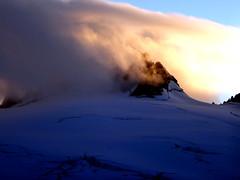 Aiguille du Tour (mathias.leguyadec) Tags: clouds de soleil tour coucher glacier nuage chamonix trient aiguille