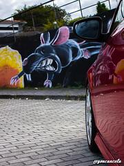 Nirvana-13 (Gon Cancela) Tags: car vw golf volkswagen graffiti coruña grafiti nirvana galicia coche bbs mirador oleiros tsi mkvi mk6 bastiagueiro