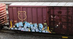 ICH (timetomakethepasta) Tags: wisconsin train graffiti central yme wc boxcar ich freight ichabod