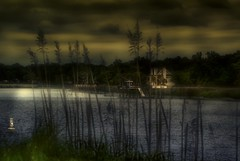 River House (Art Lewis) Tags: house river reeds swamps swamp rivers hdr