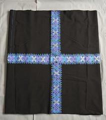 Maya Skirt Chiapas Mexico Mitontic (Teyacapan) Tags: mexico maya embroidery mexican textiles chiapas skirts bordados falda tzotzil enredo