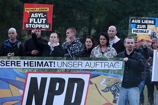 Anti-Asyl-Kundgebung NPD @Dabel 04