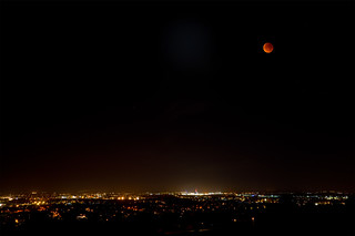 Blood Moon over Portsmouth