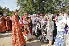 074. Patron Saints Day at the Cathedral of Svyatogorsk / Престольный праздник в соборе Святогорска