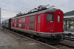 TR Transrail Electric locomotive type Re 4/4I N 10009. (Franky De Witte - Ferroequinologist) Tags: de eisenbahn railway estrada chemin fer spoorwegen ferrocarril ferro ferrovia