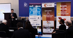 ISIF ASIA and FRIDA AWARDS 2012 . Jens Karberg talks about Sida contribution to the Seed Alliance, ..Event was held at the 7th Internet Governance Forum  (IGF) annual  meeting held at the Baku Expo Ex