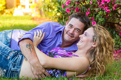 Krista&Patrick-20150913-367 (Frank Kloskowski) Tags: people georgia engagement couple patrick buford floweres kristamarie