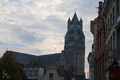 Church tower Brugge Belgium (Ide Nauta photography) Tags: church belgium belgique brugge belgi kerk