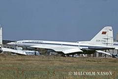 TU144 CCCP-77112 AEROFLOT (shanairpic) Tags: sst aeroflot jetairliner tu144 tupolevtu144