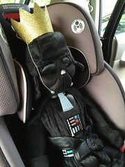 "Darth Vader in Paul's Car Seat • <a style=""font-size:0.8em;"" href=""http://www.flickr.com/photos/109120354@N07/22596279974/"" target=""_blank"">View on Flickr</a>"