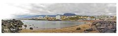 Panorámica Tenerife  # 4342b (ROBERTO VILLAR l FOTOGRAFÍA) Tags: travel españa paisajes naturaleza beach canon landscape mar photo playa viajes cielo tenerife postal turismo vacaciones islas descanso volcanes lasamericas islascanarias panorámica costas canaryisland adeje puertocalero photobank lanzarotephotográfika