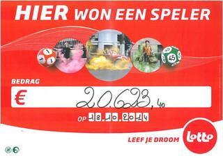 Lotto €20.623,40