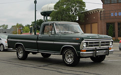 1971 Ford F-100 Ranger (SPV Automotive) Tags: green classic ford car truck 1971 ranger pickup f100