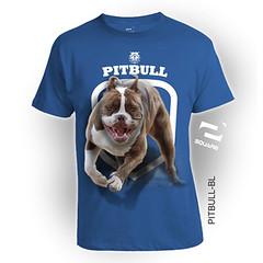 PITBULL-BL (squareteesbdg) Tags: dog square 3d pitbull kaos anjing binatang
