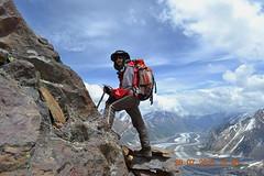 Heading towards Camp 1 .... Spantik (>> Ali Hasan <<) Tags: pakistan mountains karakoram spantik goldenpeak alihasan alihasanphotography