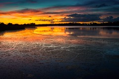 Twilight (GOJR.) Tags: longexposure inexplore nikon3570f28 nikond600 colors lake dusk twilight florida