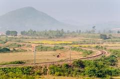 Tracks & Flowers (ashok kolluru) Tags: vizag india