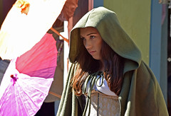Peasant Girl (MTSOfan) Tags: peasant girl woman youngwoman hood cloak renaissancefaire character costume parf