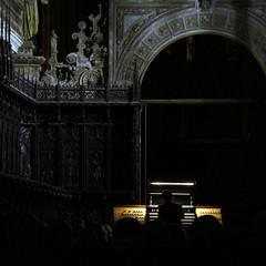 VINCENT DUBOIS, RGANO - XXXIII FESTIVAL INTERNACIONAL DE RGANO CATEDRAL DE LEN - 13.10.16 (juanluisgx) Tags: leon spain organo organ orgel vicentedubois festivalinternacionaldeorganocatedraldeleon fiocle cndm musicashistoricas catedraldeleon cathedral