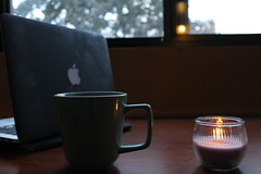 Things that remain (Helena Ip) Tags: college dorm fall cup tea candle study madison uw