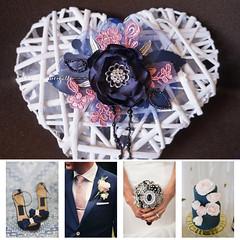 Sapphire Pink Wedding - Matrimonio Zaffiro e Rosa (CartaForbiciGatto) Tags: sapphire pink wedding matrimonio zaffiro e rosa blue blu navy accessories decor accessori jewelry gioielli decorazioni pizzo lace tulle