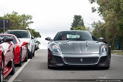 Ferrari 599 GTO (Jeferson Milão) Tags: ferrari 599 gto curitiba parana brasil brazil 599gto 430 scuderia 458 italia cwb ctba ctbaexotics grigio silverstone grigiosilverstone nikon d80 50mm